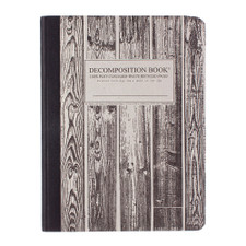 Decomposition Book Beachwood College Ruled Notebook