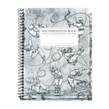 Decomposition Book Deep Stretch College Spiral Notebook