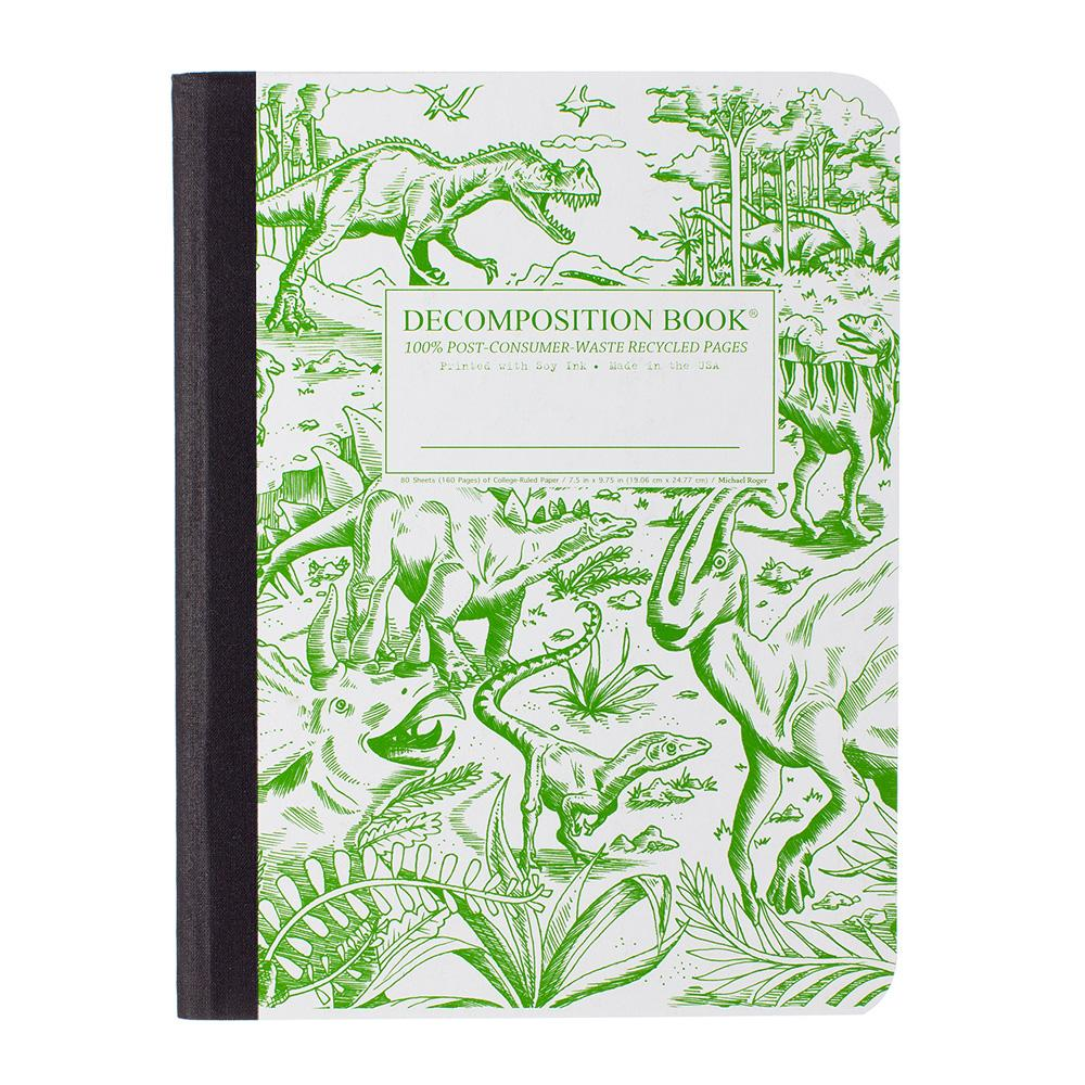 Decomposition Book Dinosaurs College Ruled Notebook