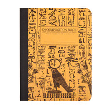 Decomposition Book Hieroglyphics College Ruled Notebook