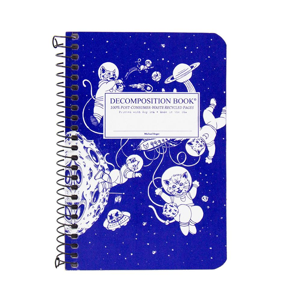 Decomposition Book Kittens In Space College Ruled Notebook