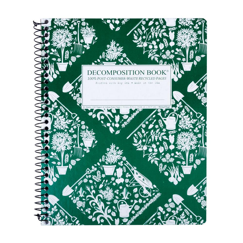 Decomposition Book Patch Work College Spiral Notebook