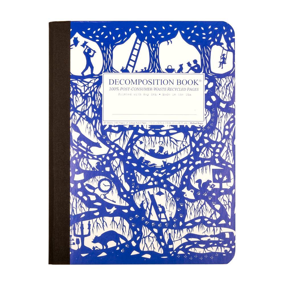 Decomposition Book Underground College Ruled Notebook