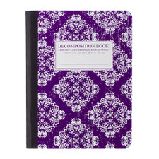 Decomposition Book Victoria College Ruled Notebook