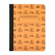 Decomposition Book Vintage Bicycles College Ruled Notebook