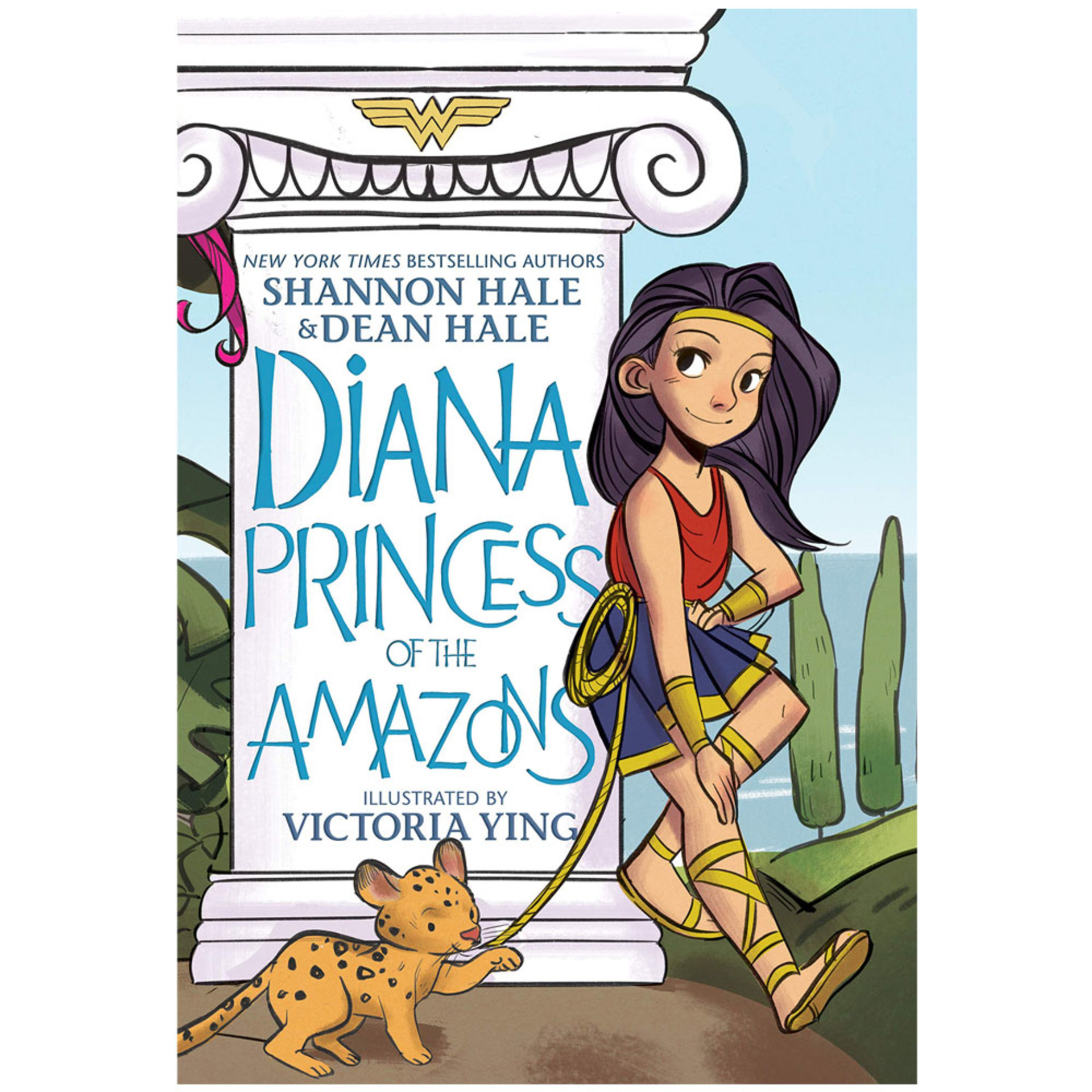 Diana: Princess of the Amazons by Shannon Hale and Dean Hale, illustrated by Victoria Ying