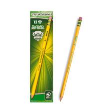 Dixon Ticonderoga #2 Sharpened Pencils 12 Count