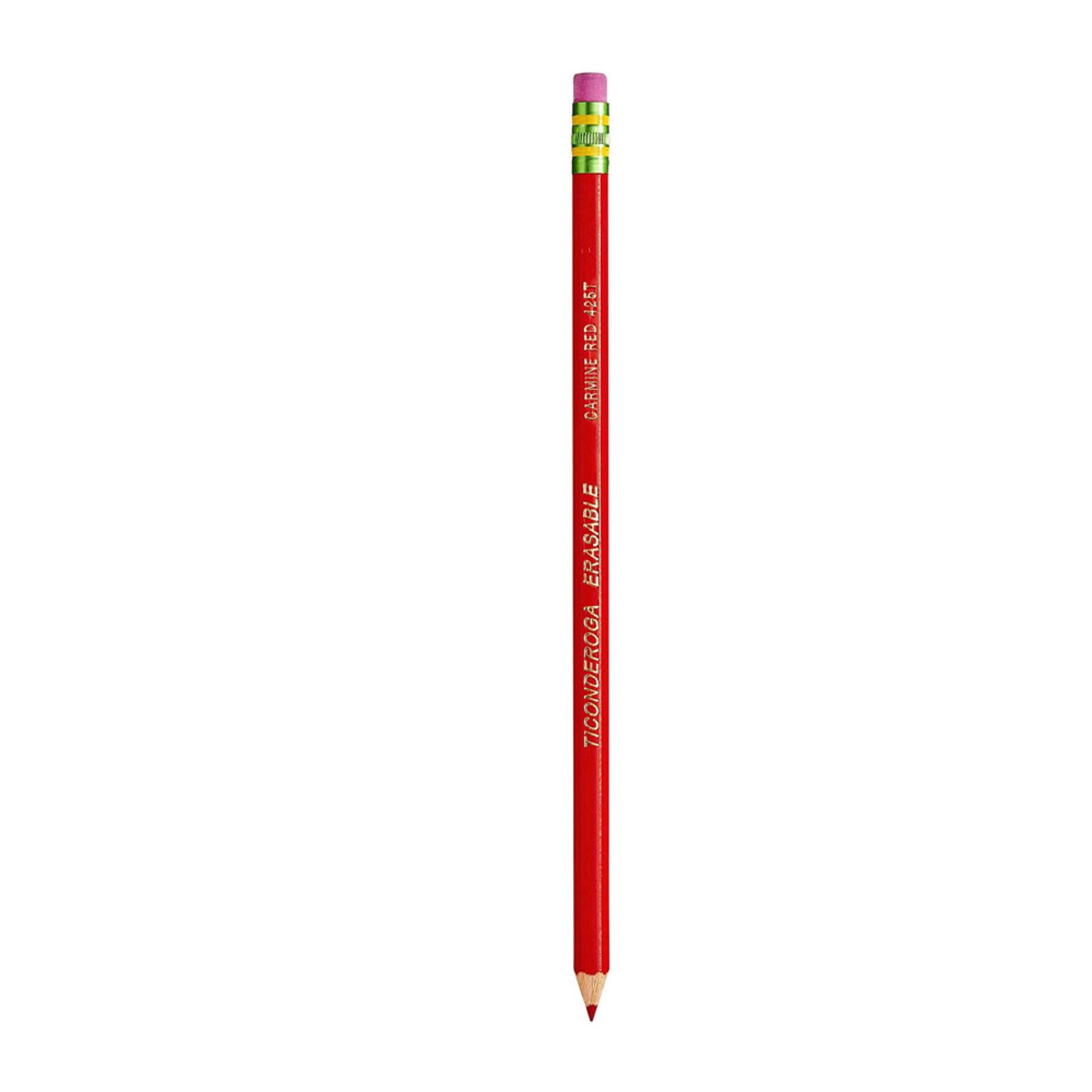 Dixon Ticonderoga Erasable Red Checking Pencil