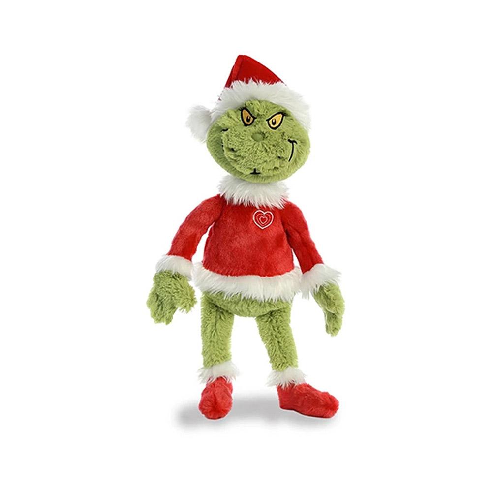 """Dr. Seuss Grinch Santa Plush 18"""""""