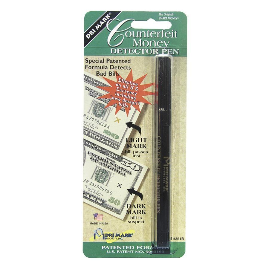 Dri Mark Counterfeit Money Detector Pen