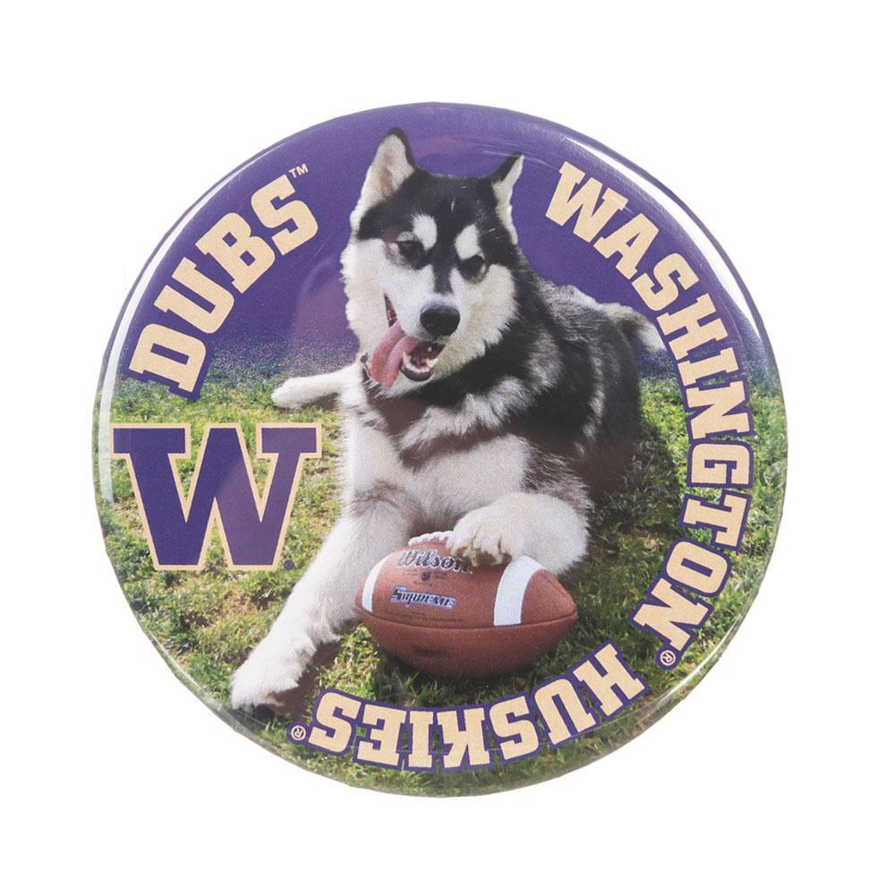 University Of Washington Huskies >> Dubs Washington Huskies Button