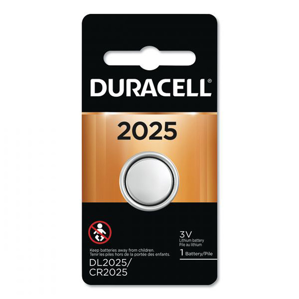 Duracell 2025 3V Coin Lithium Battery