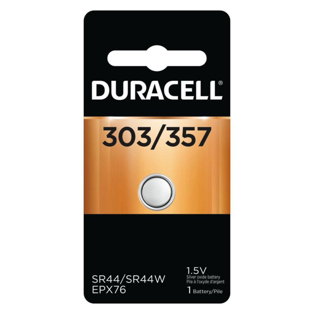 Duracell 303 / 357 1.5V Silver Oxide Battery