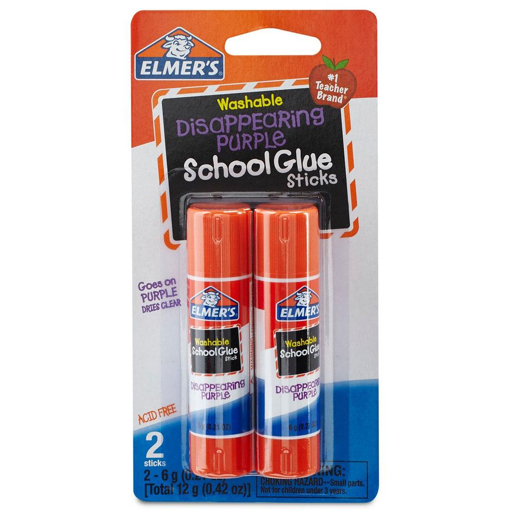 Elmer's Washable School Glue Stick 2 Pack