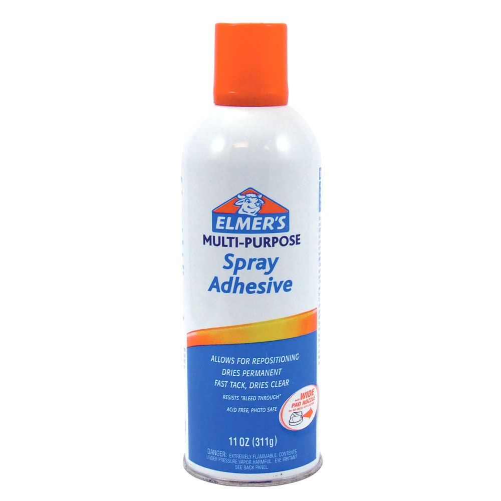 Elmer's Clear 11oz Multi Purpose Spray Adhesive
