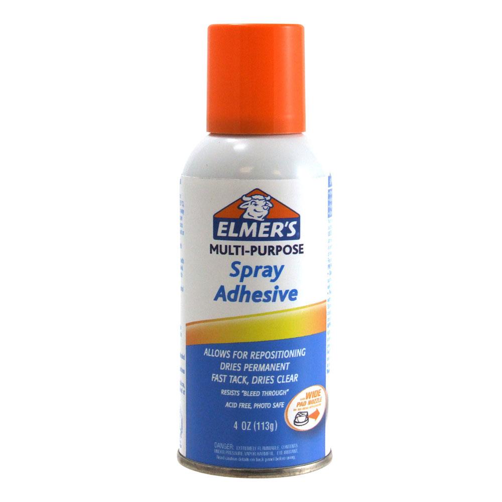 Elmer's Clear 4oz Multi Purpose Spray Adhesive