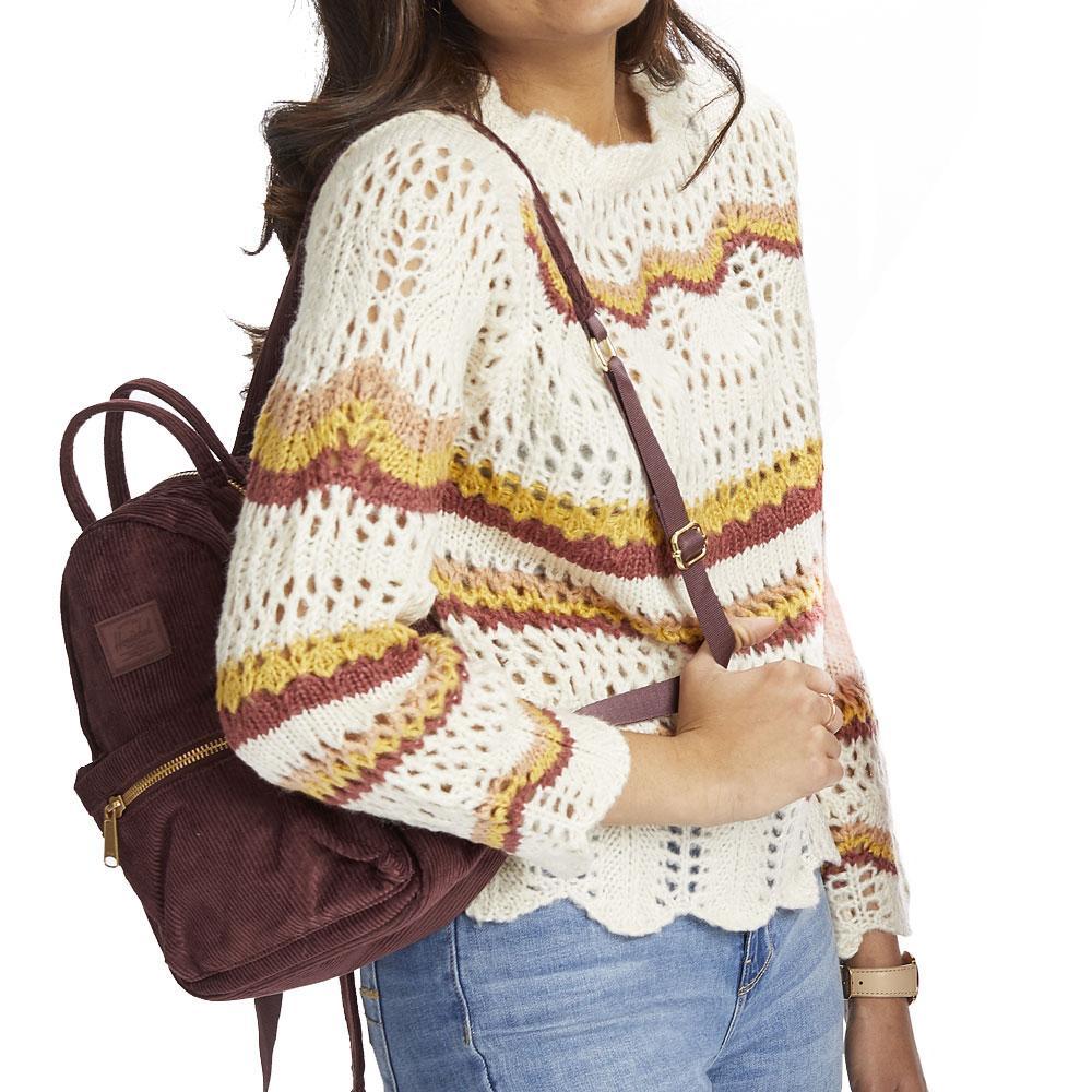 En Creme Ivory Stripe Sweater