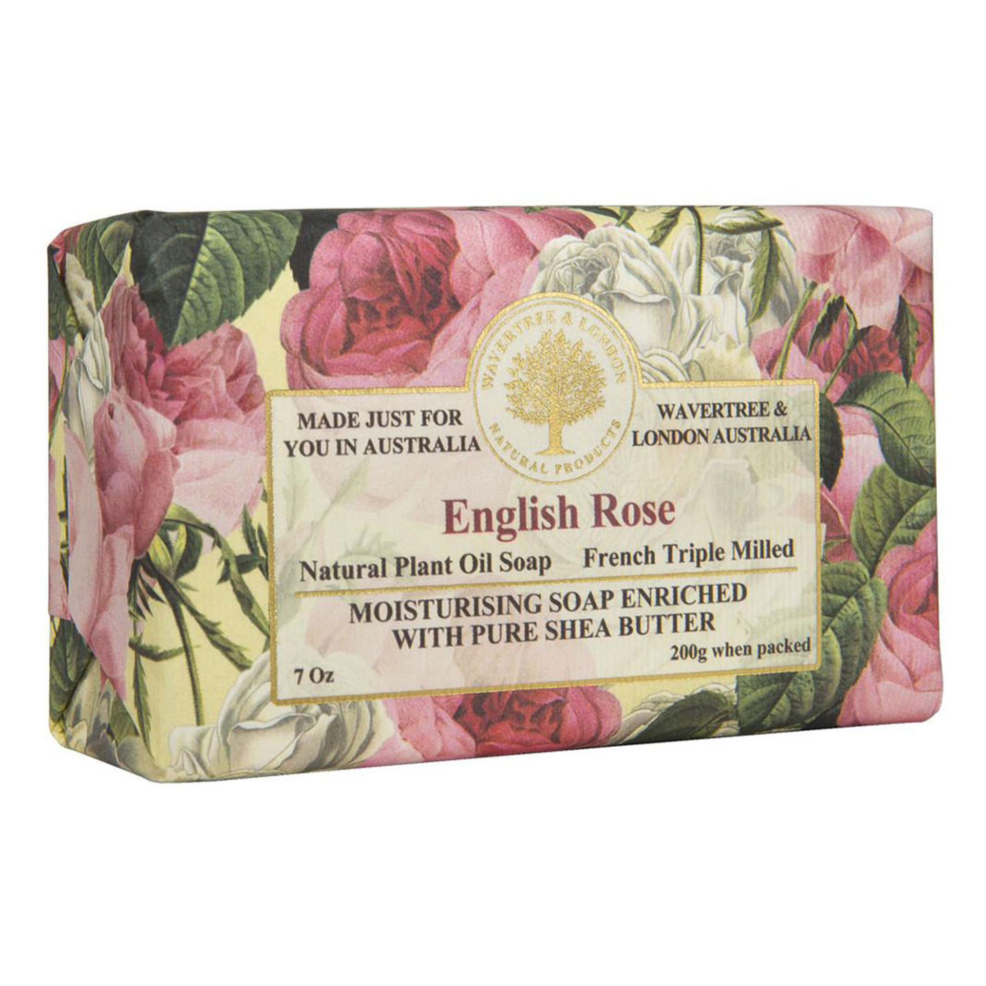 English Rose Bar Soap