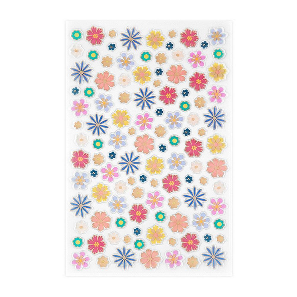 Erin Condren Floating Floral High Gloss Sticker Sheet