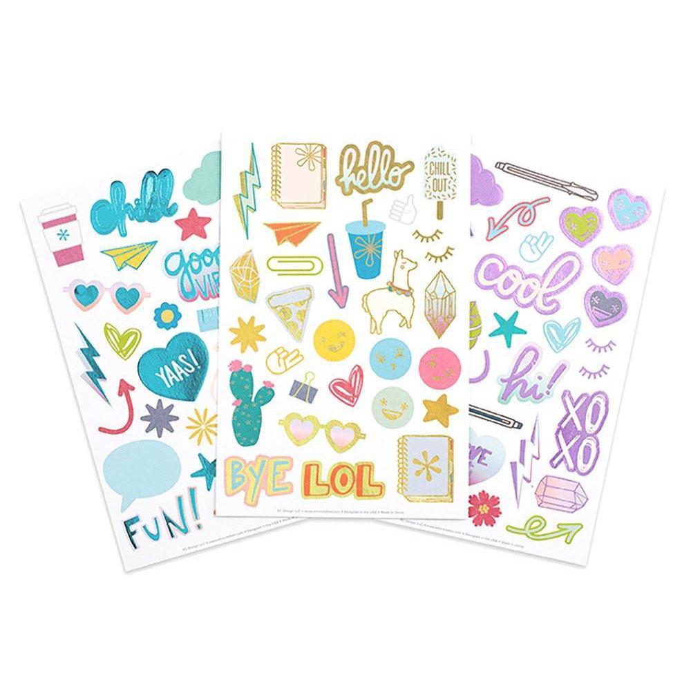 Erin Condren Sticker Pack Doodles And Desk Sets