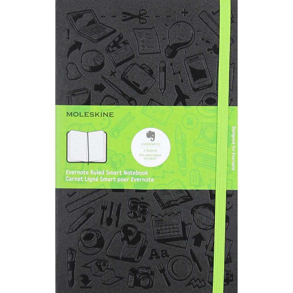 Moleskine Evernote-Ruled Smart Notebook Front