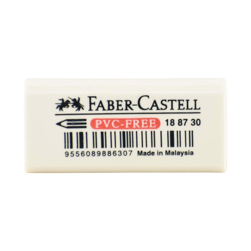 Faber-Castell White PVC Free Eraser