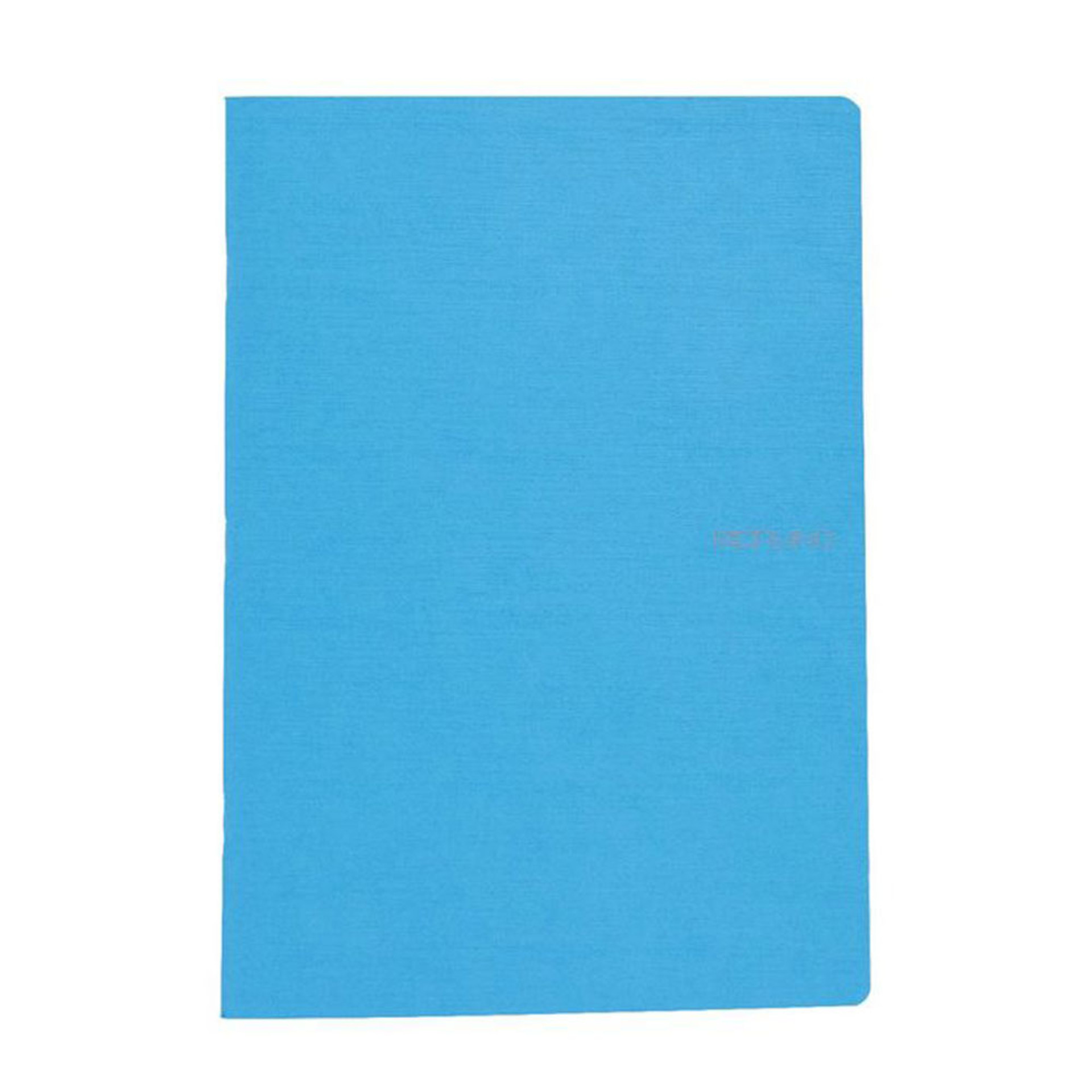 "Fabriano EcoQua Soft Bound Blank 8""x11"" Notebook 38ct Cyan"