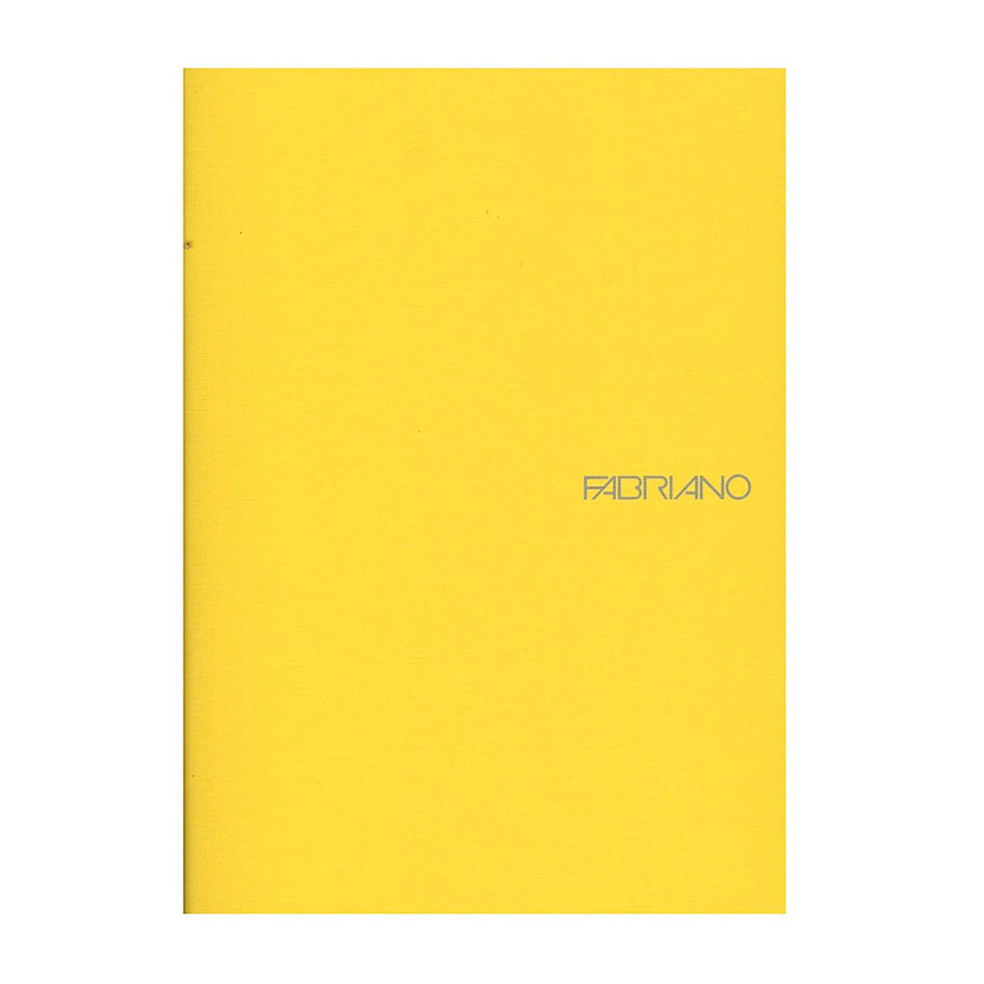 """Fabriano EcoQua Soft Bound Lined 8""""x11"""" Notebook 38ct Lemon"""