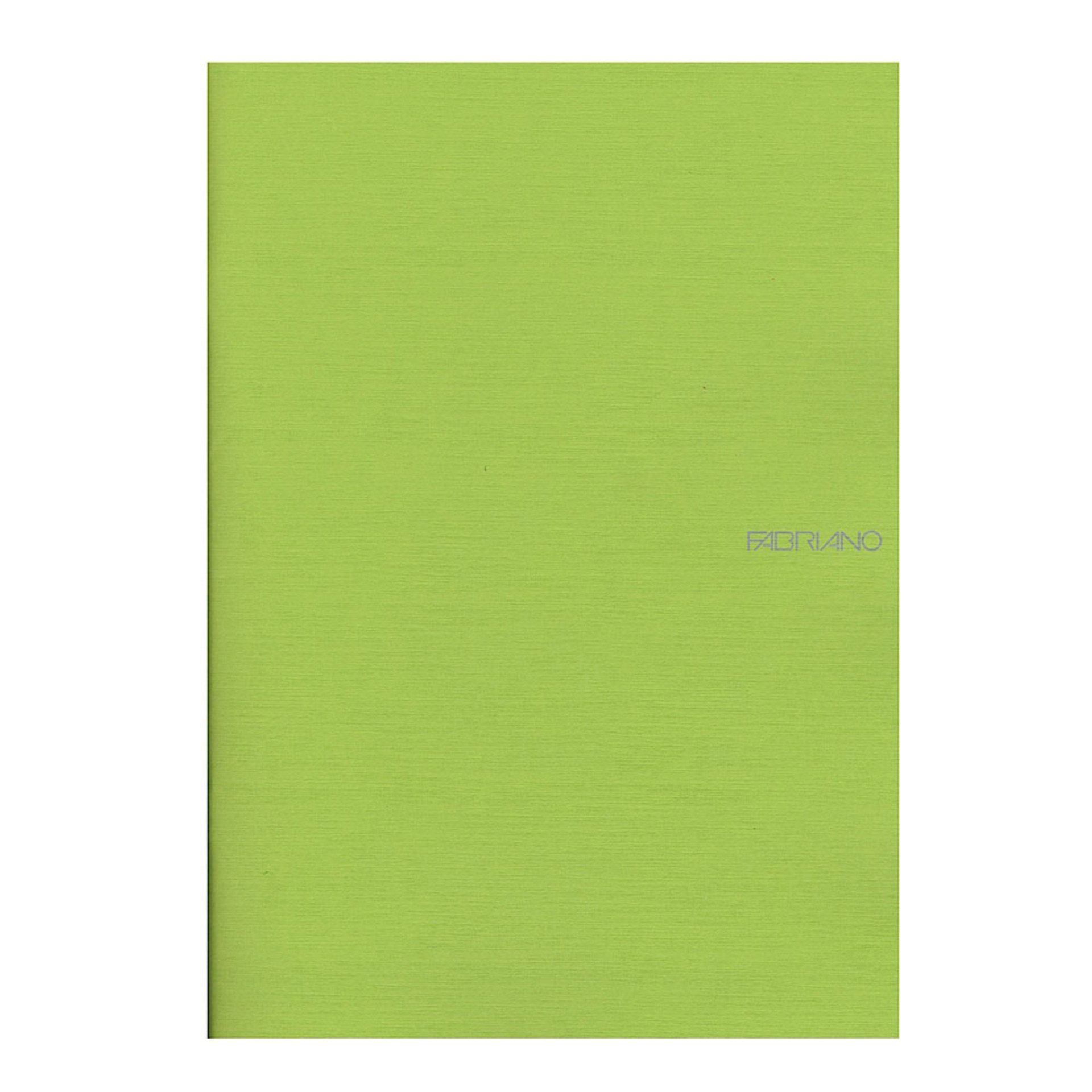 """Fabriano EcoQua Soft Bound Lined 8""""x11"""" Notebook 38ct Lime"""