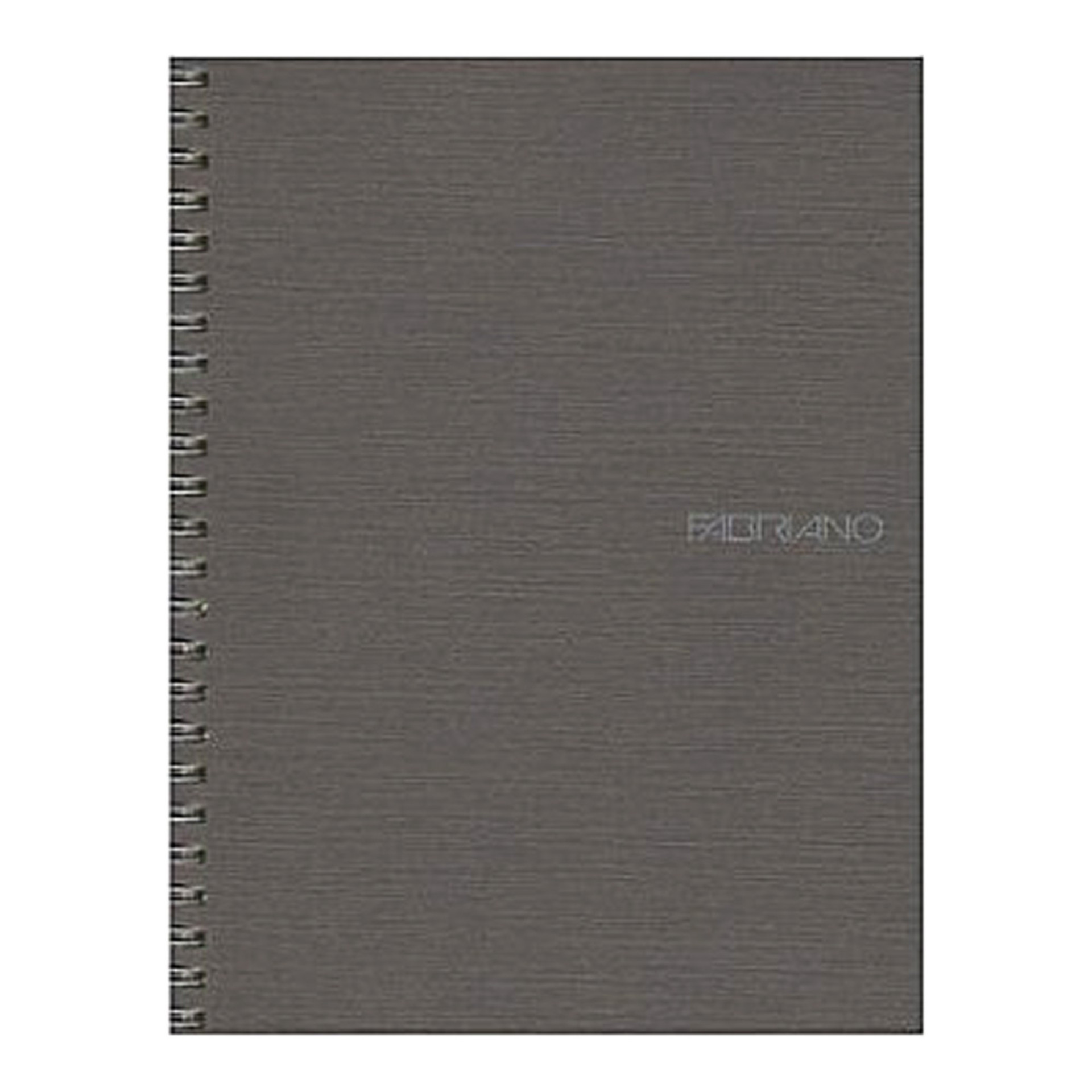 "Fabriano EcoQua Wire Bound Blank 6""x8"" Notebook Stone"
