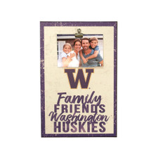 Family Friends Washington Huskies Canvas Clip 12x18