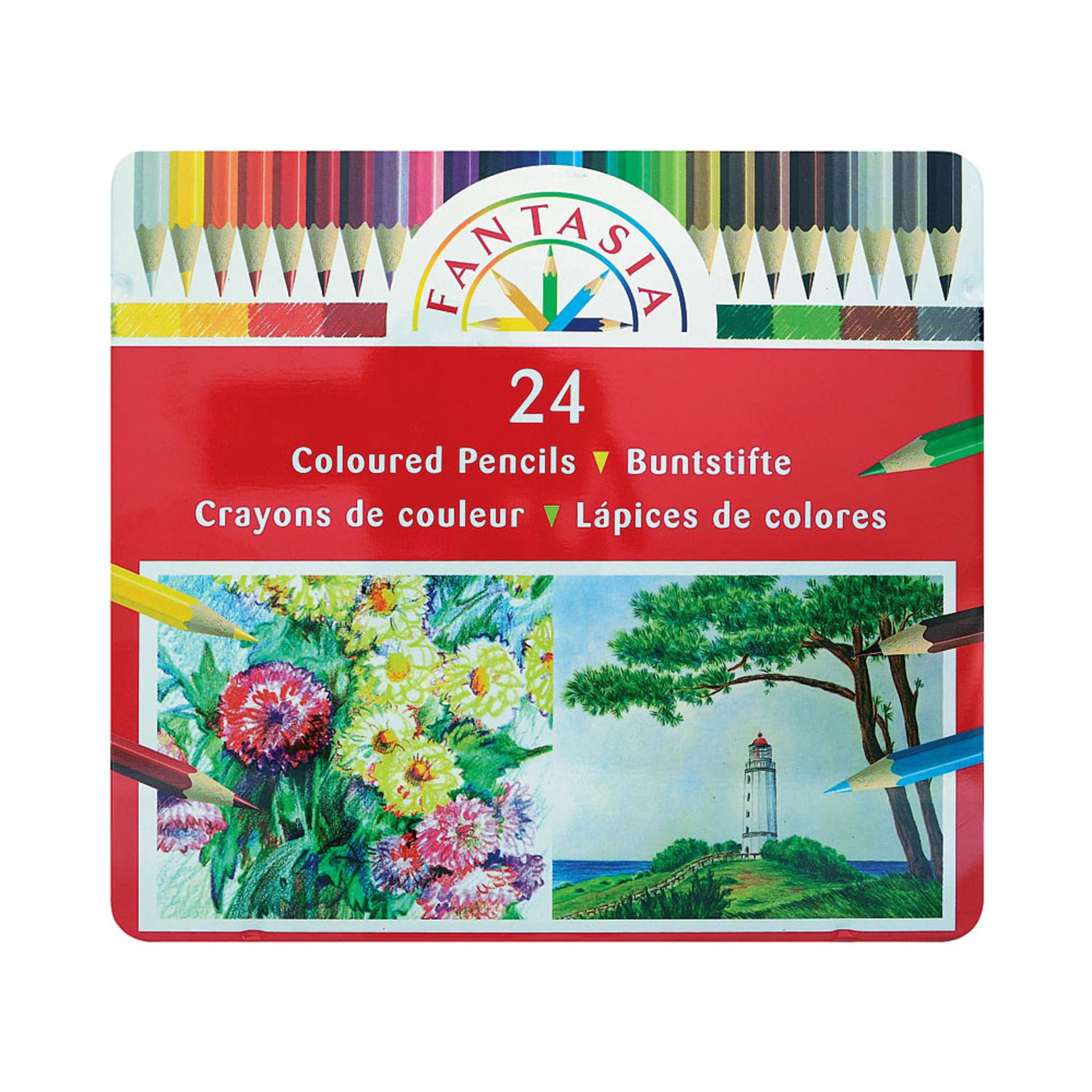 Fantasia Colored Pencil Set 24