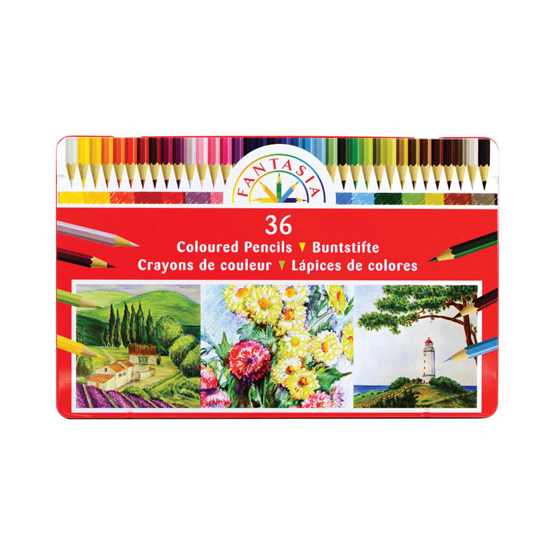 Fantasia Colored Pencil Set 36