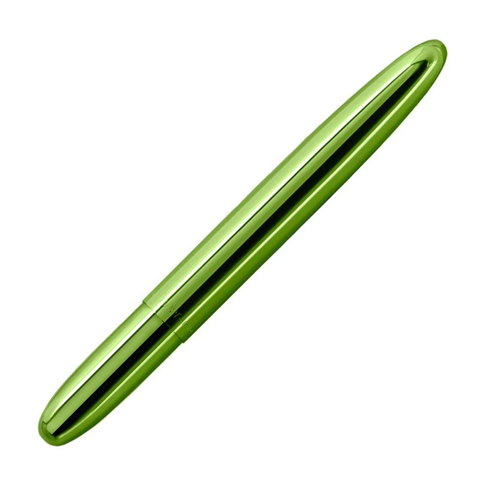 Fisher Bullet Space Ballpoint Pen Lime Closed