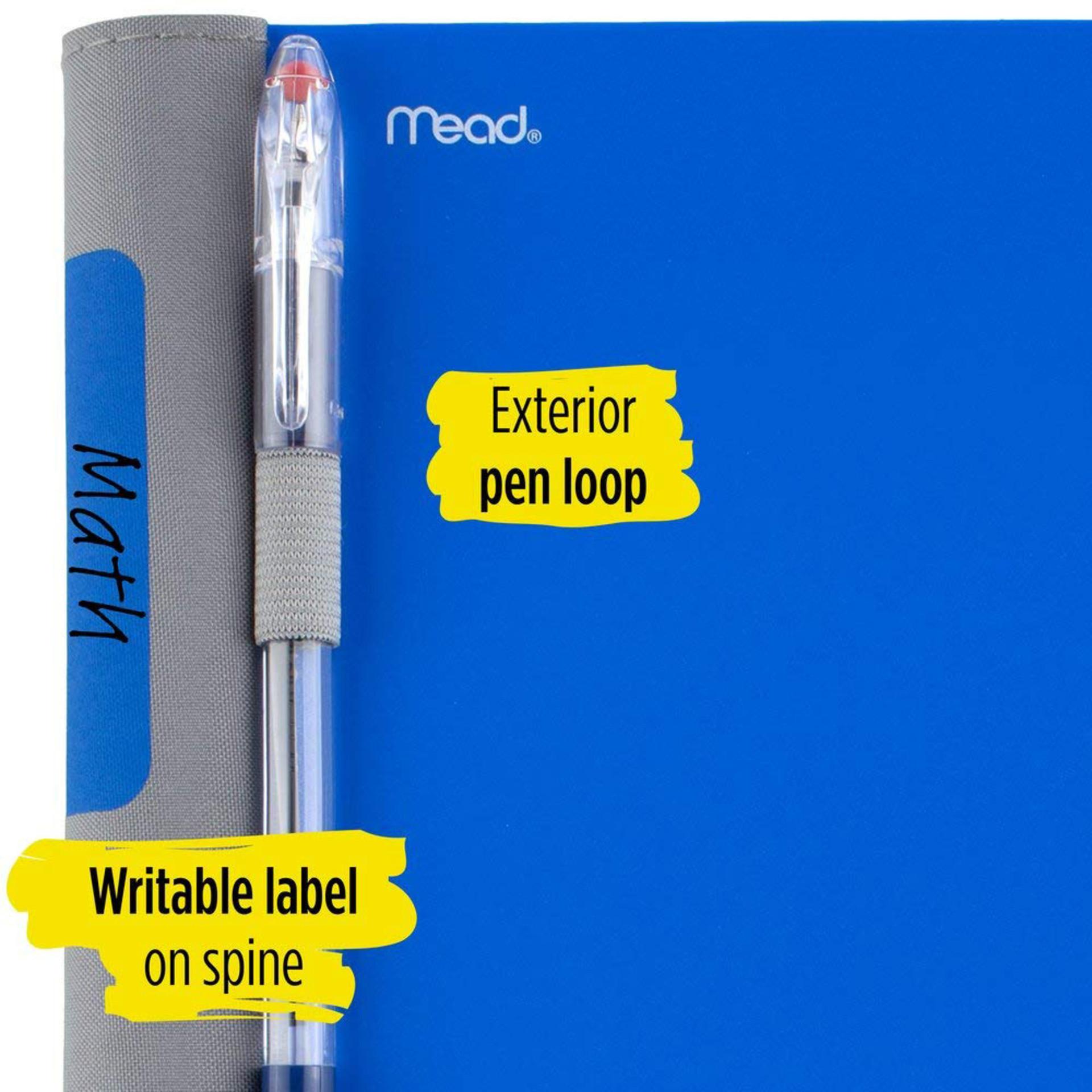 Five Star Advance College Spiral Notebook Pen Loop