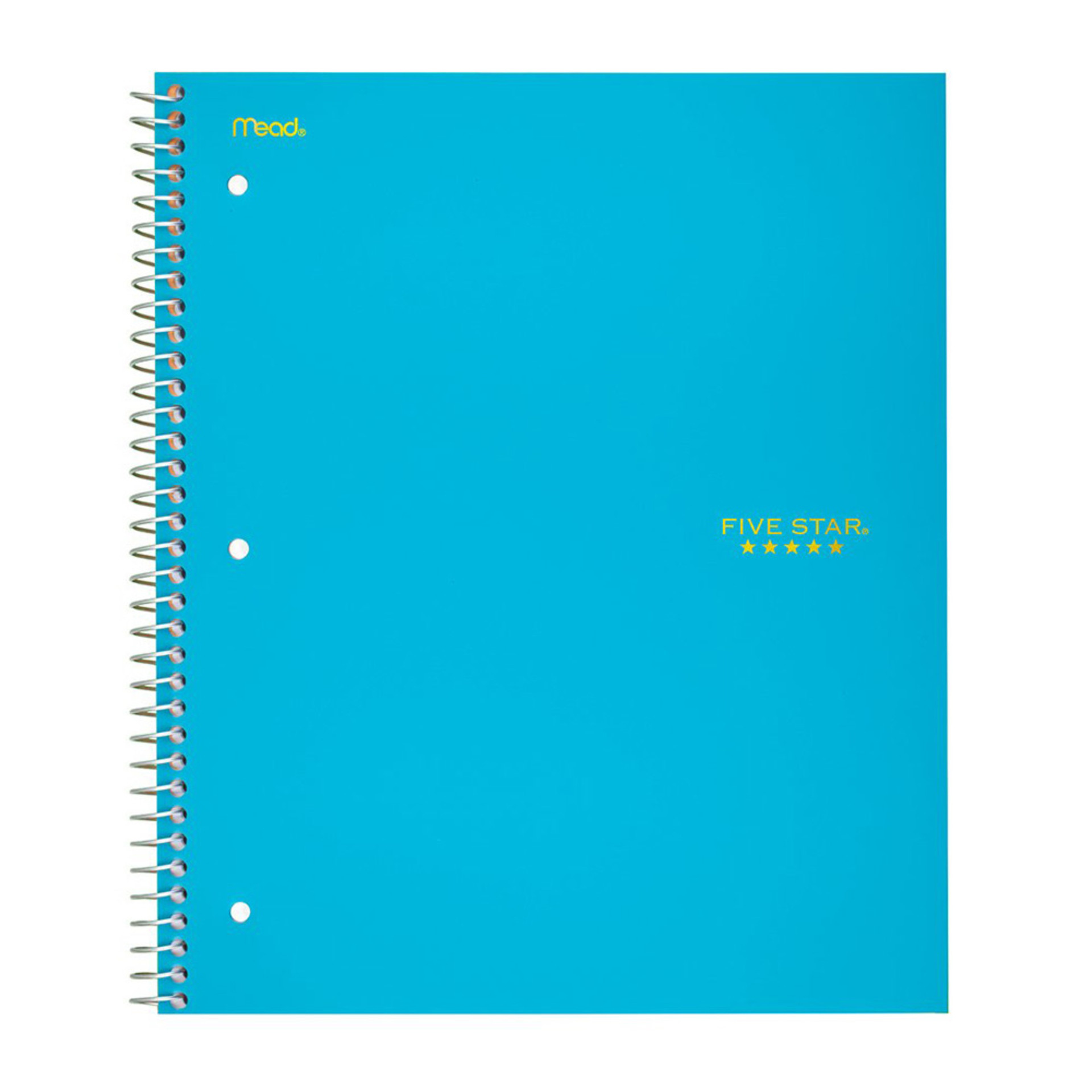 Five Star Trend 1 Subject College Spiral Notebook