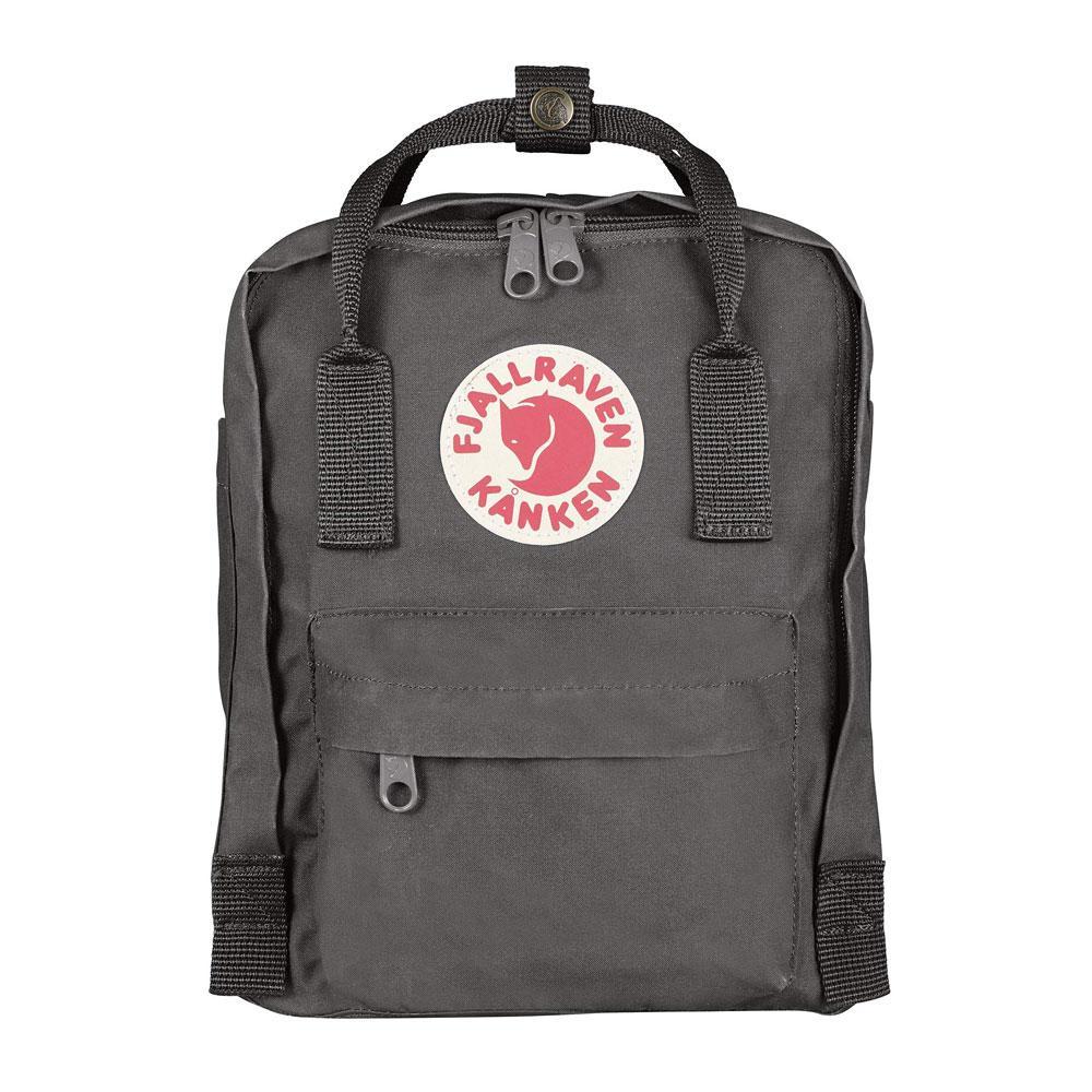 Fjall-Raven Kanken Mini Super Gray Backpack