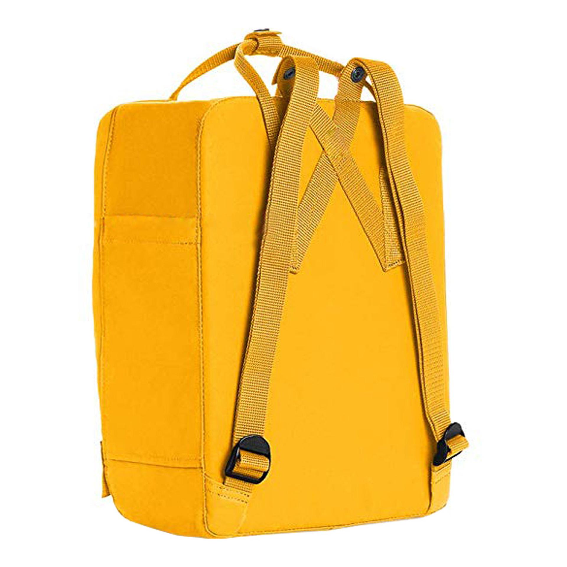 Fjallraven Kanken Backpack Warm Yellow Back