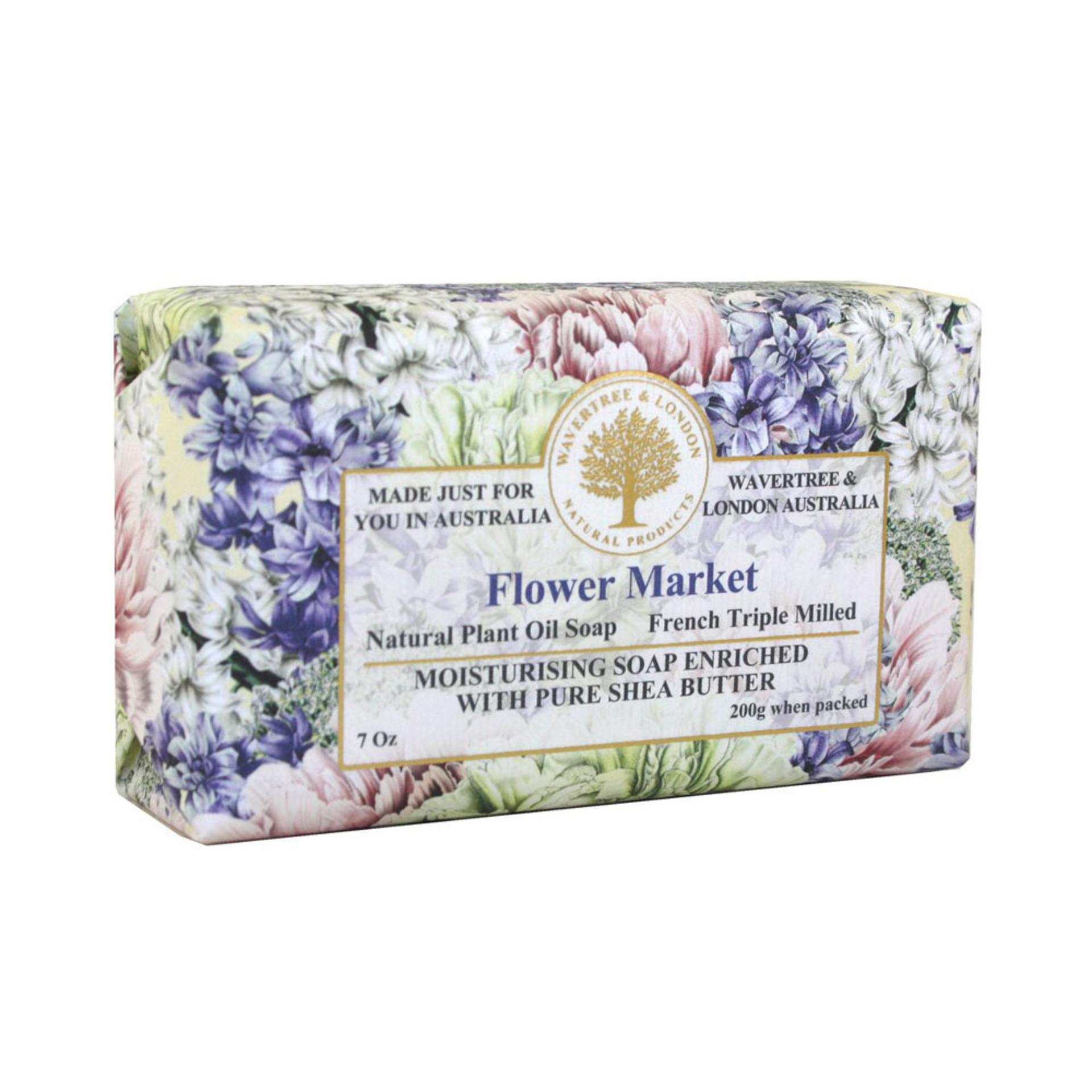 Flower Market Bar Soap