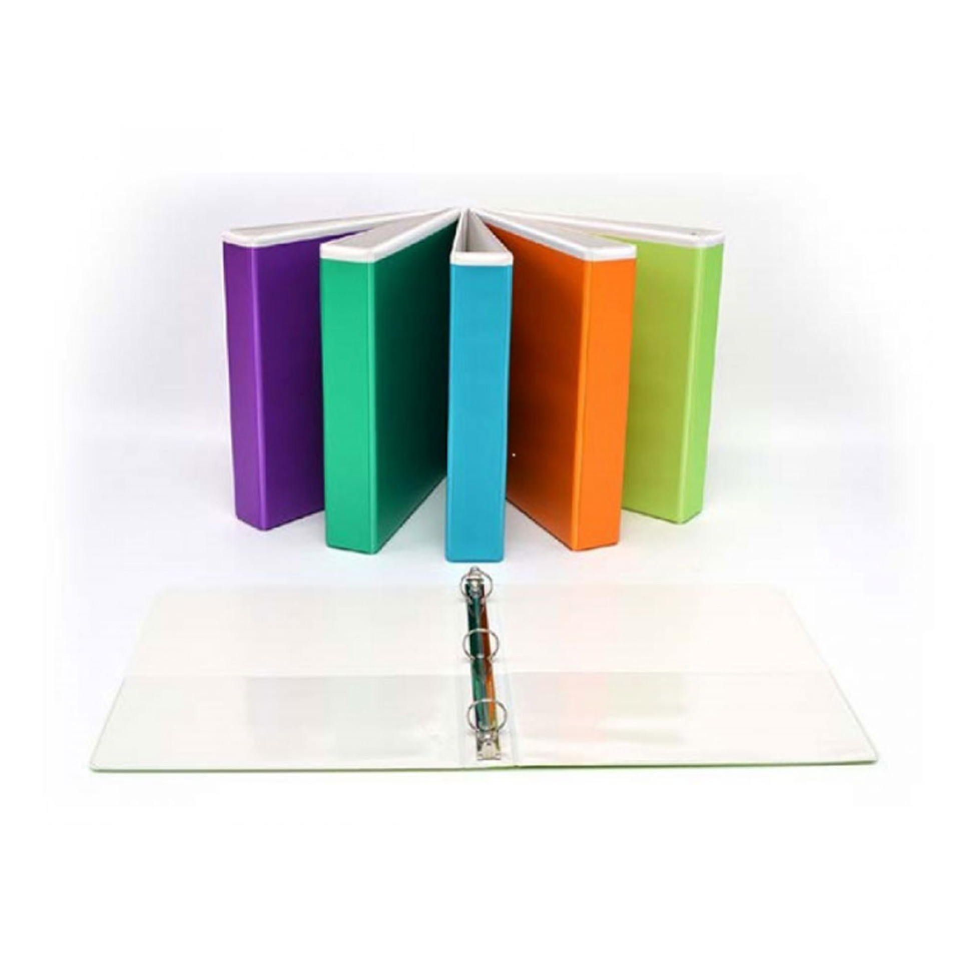 """Four Point Jewel Tint 1"""" View 3-Ring Binder"""