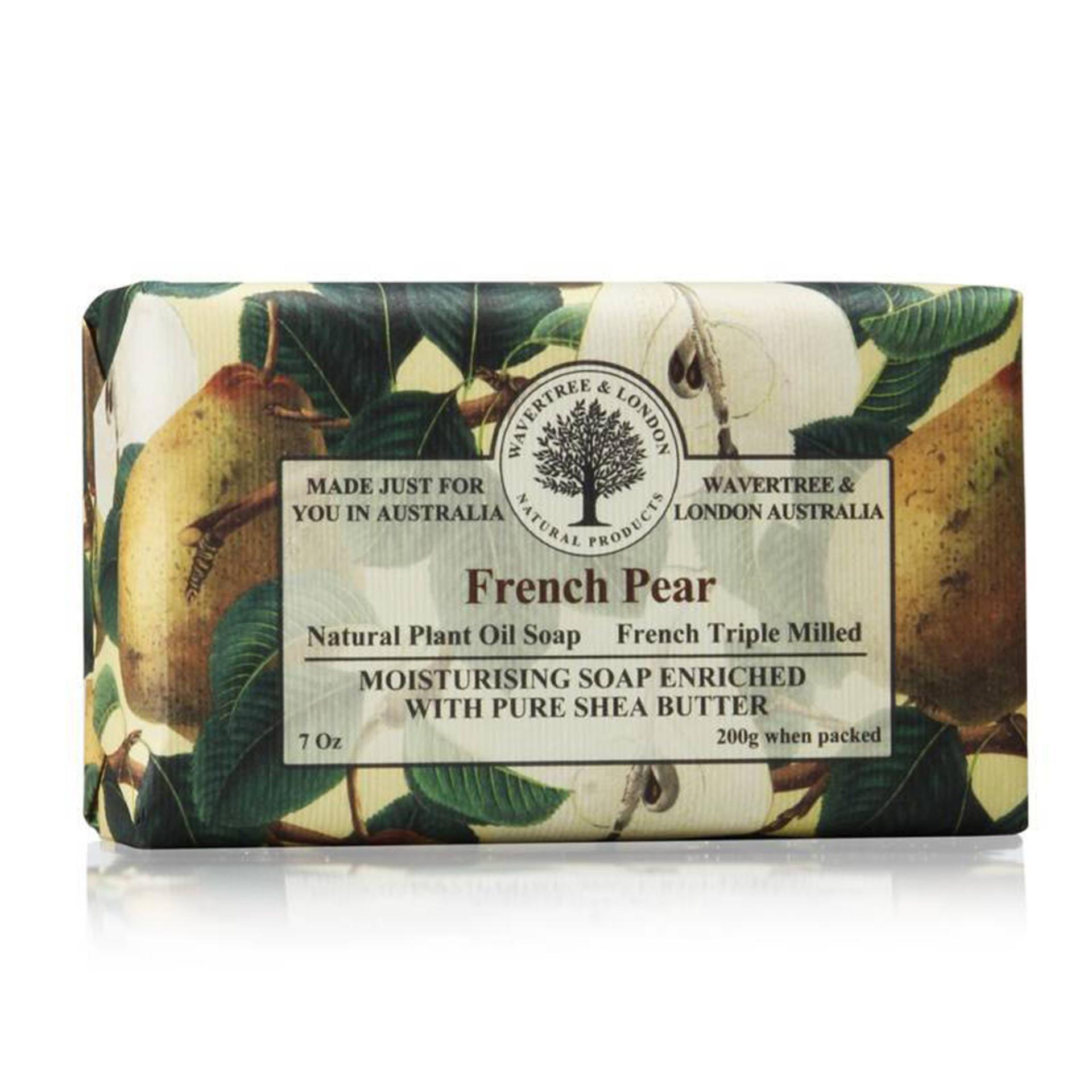 Wavetree & London Australia French Pear Bar Soap