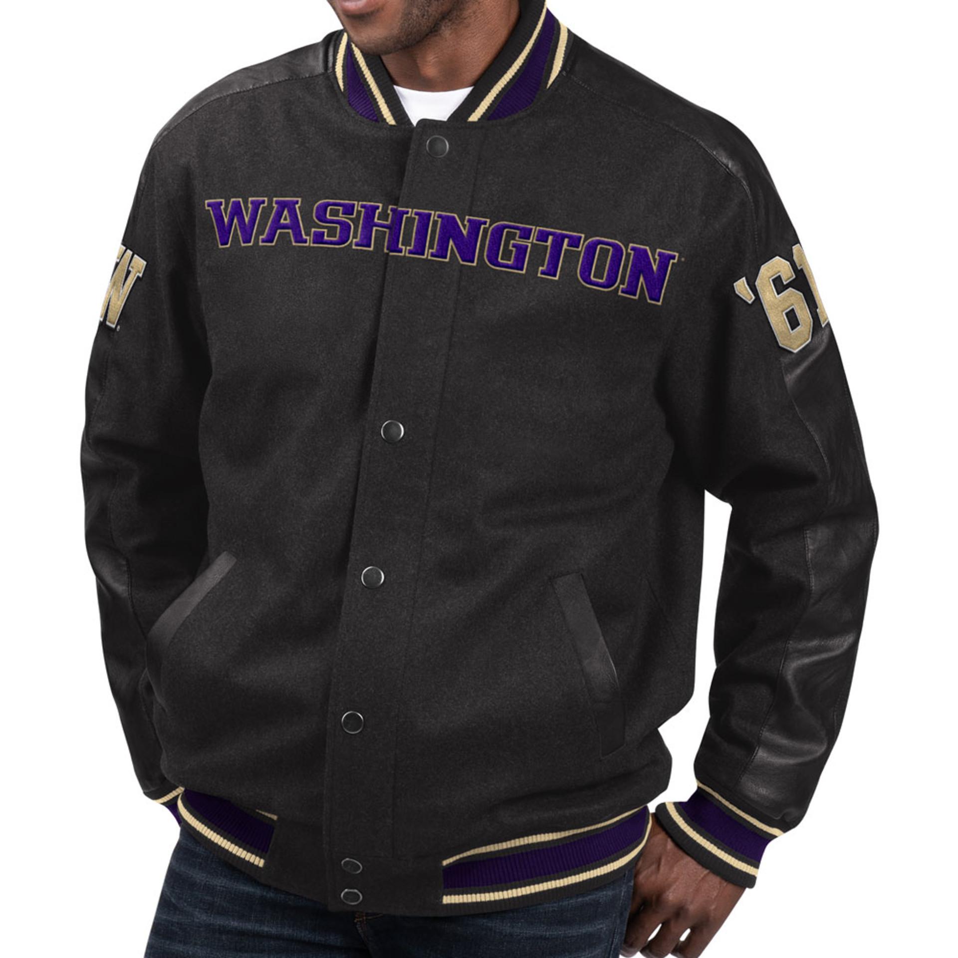 G-III Men's Washington '61 Scrimmage Varsity Jacket