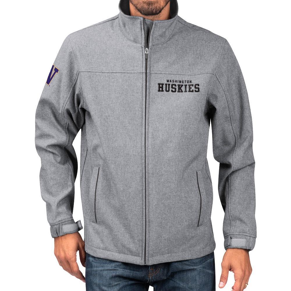 G-III Men's Washington Soft Shell Full-zip Jacket