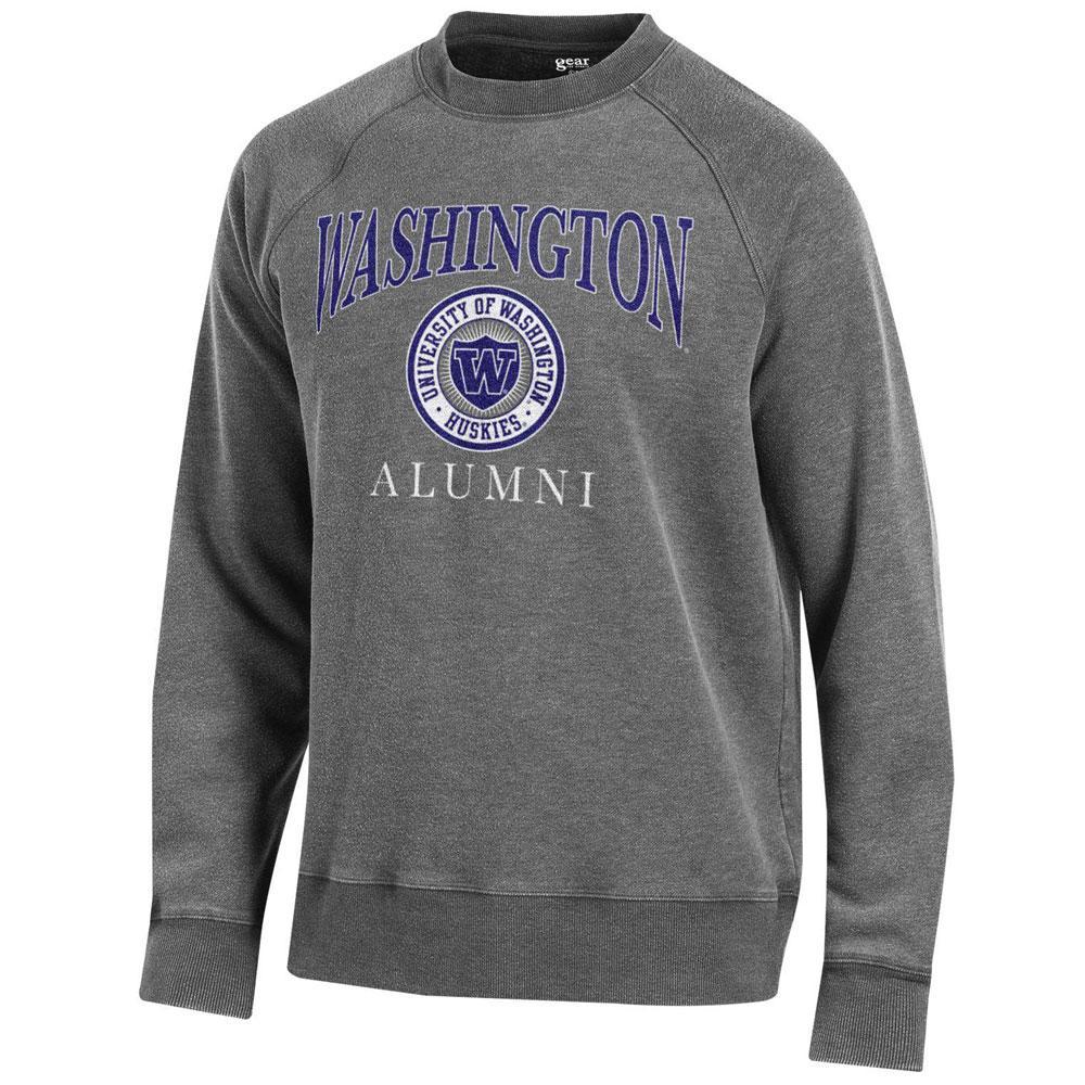 Crewneck Gfs Washington Alumni Unisex Seal Sweatshirt cjR534LqA