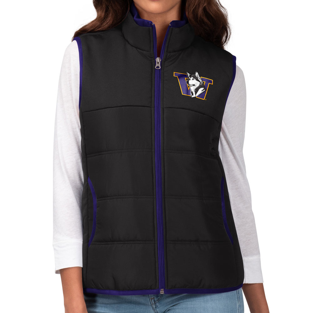 GIII Women's Retro Dog W Grand Slam Vest – Black