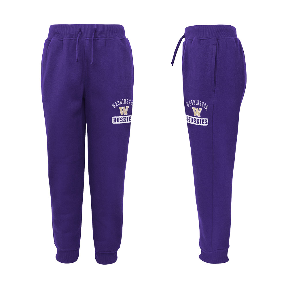Gen2 Kids' Washington W Huskies Fashion Fleece Pant