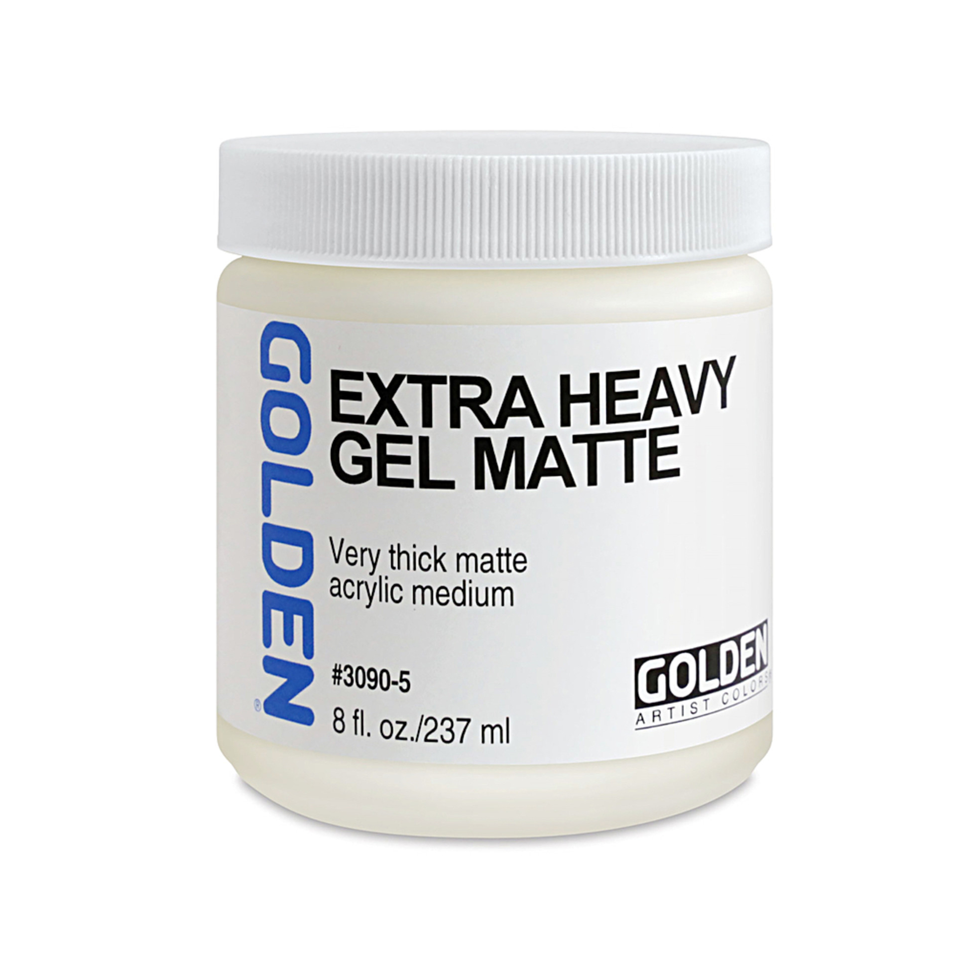 Golden 8oz Extra Heavy Gel Matte