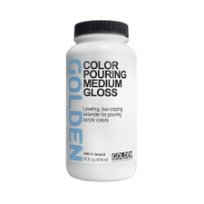 Golden 8oz. Color Pouring Medium – Gloss