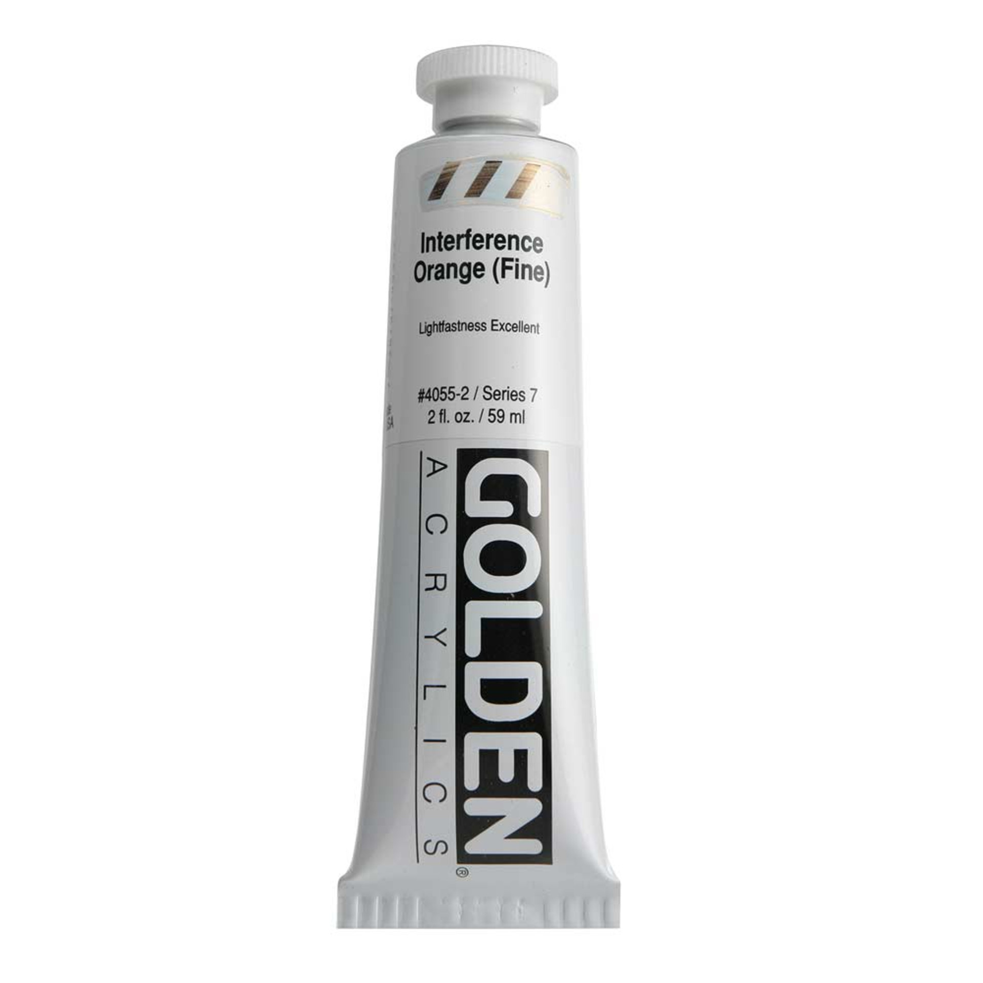 Golden Heavy Body Acrylic Tube 2oz Interference