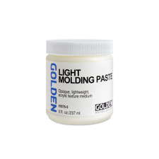 Golden Light Molding Paste Acrylic Medium 8oz